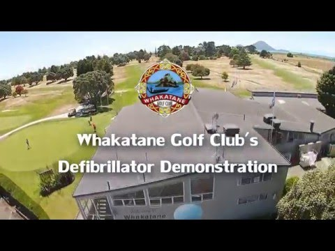 Whakatane Golf Course Defibrillator Demo