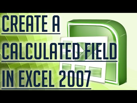 [Free Excel Tutorial] CREATE A CALCULATED FIELD IN EXCEL 2007 - Full HD