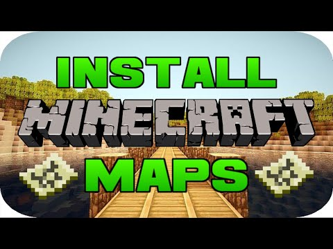 ✔️️How To Download Minecraft Maps On PC 1.12.2/Any Version