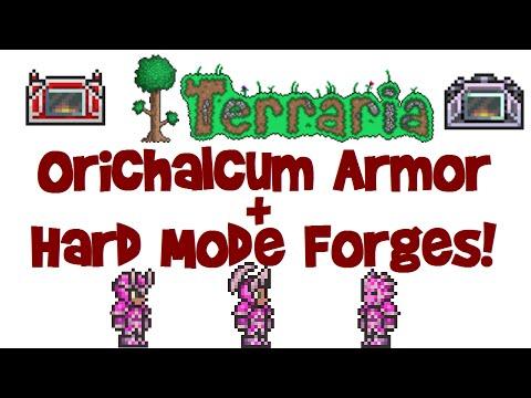 Orichalcum Armor & Adamantite/Titanium Forge (Terraria 1.3.1 PC, Let's Play Guide #23)