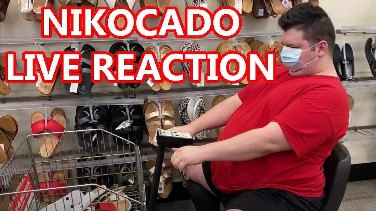 LIVE REACT - Nikocado Parodies ALR Again