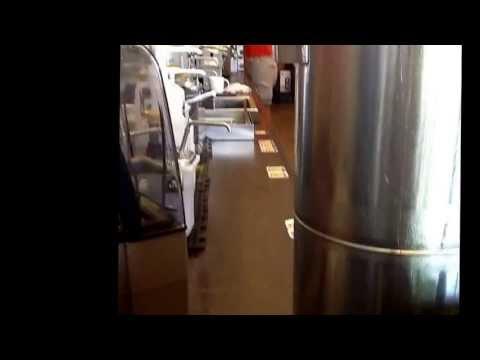 Great Starbucks Employee hard at work making my coffee.
