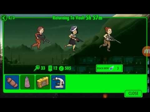 NEW Update Fallout Shelter Ver 1.6 gameplay, slow dwelling strategy, new locations and quests