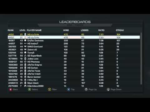 clutcheify  The Worlds  Highest   Kd Player in Call Of Duty Ghost LEGIT!!!!!!!!!!!!!!!!
