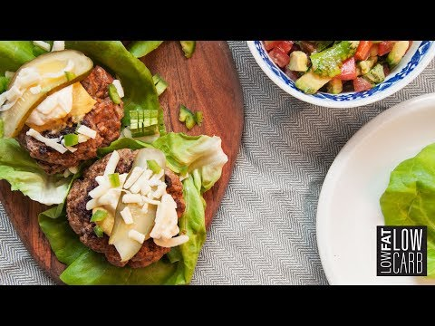 Healthy Low-Carb CheeseBurger - Best Recipe for Cravings