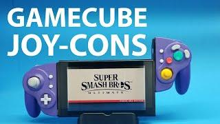 I made GameCube Joy-Cons