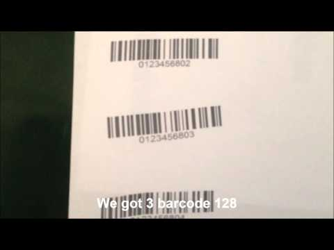 [Mylan Group] Printing data from Barcode Scanner with Vjet1040 printer