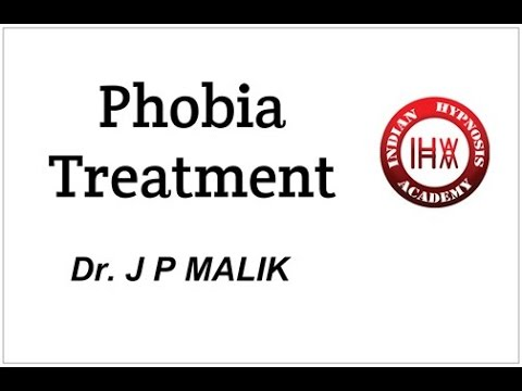 Techniques of Treatment of PHOBIA (Hindi)