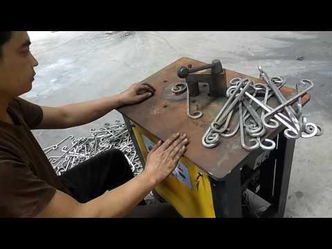 electric scroll bending machine  wrought iron machine