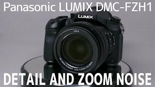 Panasonic LUMIX DMC-FZH1(FZ2000/FZ2500) 本体のディテールとズーム時のノイズ / Detail and zoom noise