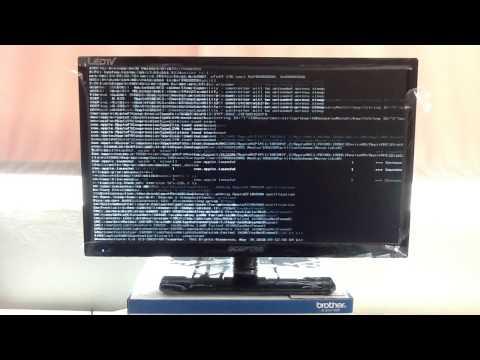 Dell Inspiron 1440 GM4500 native 1366x768 laptop display 1600x1200 external display Maverics