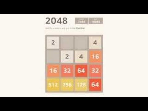 Tutorial: How to beat the 2048 game