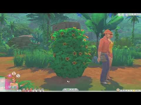 The Sims 4 Jungle Adventure: Open Air Natural Toilet & Woohoo Bush