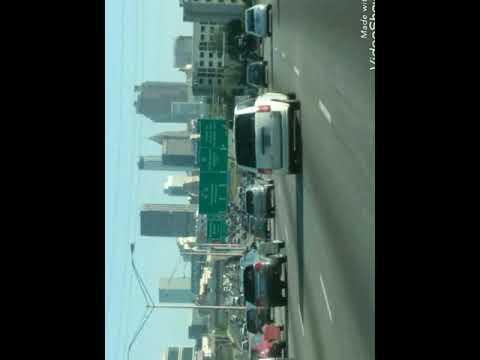 Atlanta rush hour traffic