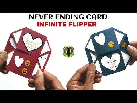Infinite Flipper   Never Ending card - DIY tutorial - 896