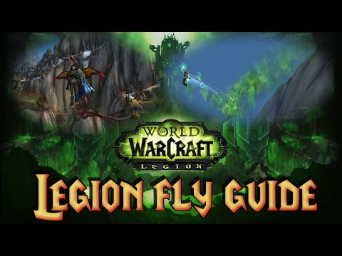 WOW Legion BROKEN ISLES FLYING GUIDE (FAST LVLING) Hatchling of the Talon