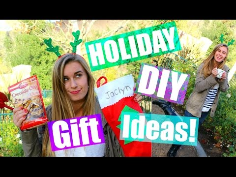 Cute DIY Holiday Gift Ideas + Secret Santa?!?