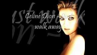 Download Céline Dion - Just Walk Away (Lyric Video)