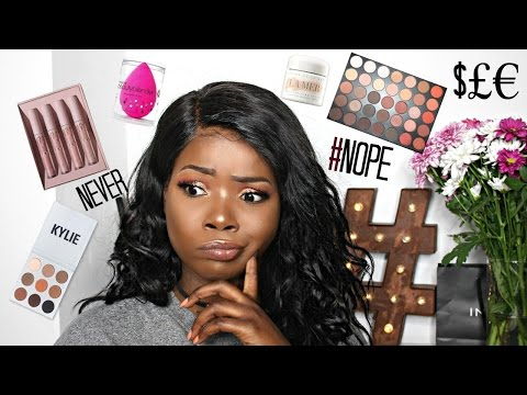 ANTI HAUL #1- MAKEUP AND BEAUTY PRODUCTS I AINT BUYING - KYLIE COSMETICS, KAT VON D, MORPHE + more!!