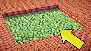 10,000 TNT VS 1000 CREEPERS | Minecraft