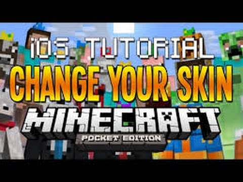 How to change your skin 0.10.4 Minecraft PE