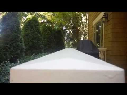 Home Inspector Seattle Shows Proper Deck Railing Cap | (425) 207-3688 | CALL US!