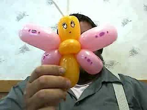 How to Make a Butterfly Balloon