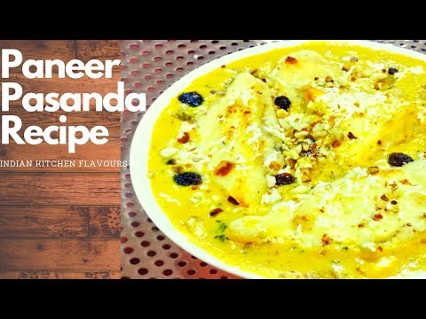 Paneer Pasanda Recipe | Restaurant Style Paneer Recipe | Paneer Pasanda by IKF