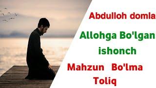 Abdulloh Domla - Allohga Bo