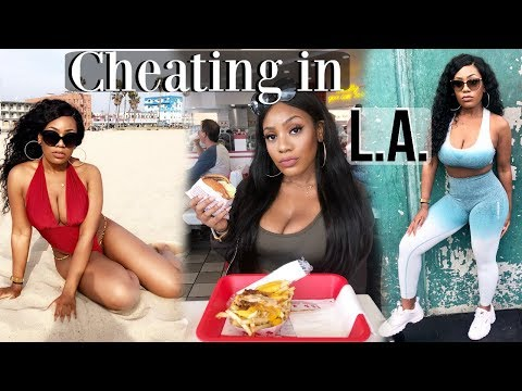 WHAT I EAT ON CHEAT DAYS IN LA   CHEATING ON DIET WITH IHOP INNOUT ROSCOES   GOLDS GYM THE MECCA