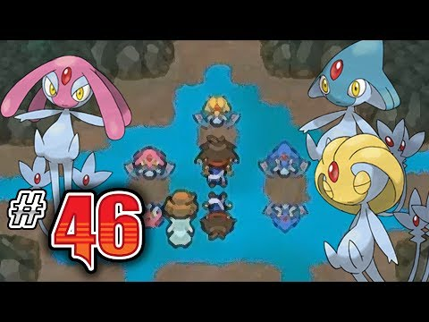Let's Play Pokemon: White 2 - Part 46 - Uxie, Mesprit, Azelf