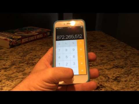 How to easily access your calculator on the iPhone