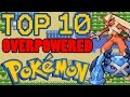 Top 10 Overpowered Generation 3 Pokemon