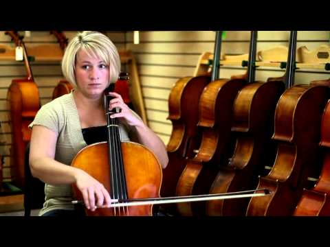 How to Play C & D Major Scales on the Cello : Cello Lessons