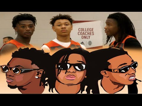 THE MIGOS OF AAU BASKETBALL??? Young Hoopers WITH BIG TIME POTENTIAL!! + Devin Williams Thoughts