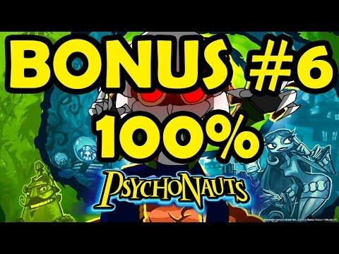 Let's Play Psychonauts bonus 6 - Brain Tumbler Experiment 100%