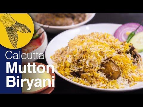 Kolkata Mutton Biryani Recipe—Detailed Step-By-Step Recipe For Bengali-Style Mutton Biryani At Home