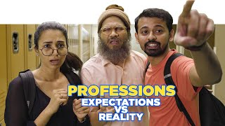 ScoopWhoop: Professions - Expectations vs Reality