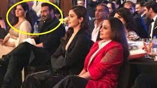 Kajol & Ajay Devgn completely IGNORE Rani Mukherjee at an awards show!