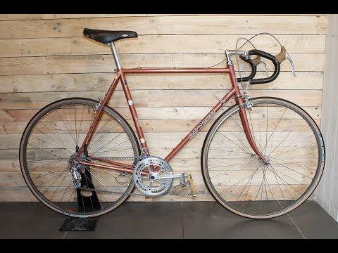 Eddy Merckx Professional Vintage Road Bike Restoration