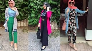 ملابس محجبات صيف 2020/موضة صيف للمحجبات /أروع فساتين