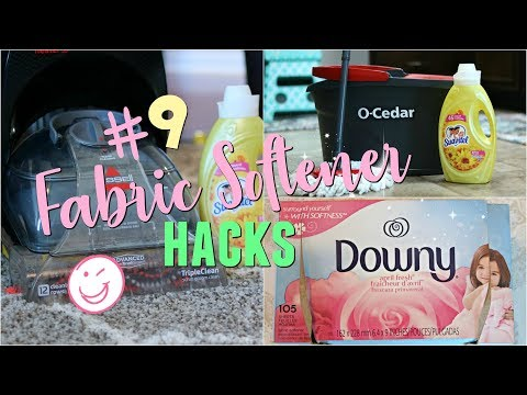 9 Hacks for FABRIC SOFTENER|DIY DRYER SHEETS|REMOVING DEODORANT STAINS FROM CLOTHES