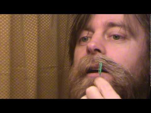 How to Wax a Handlebar Mustache