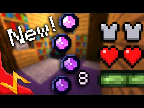 Minecraft - New Mana Bar [Custom HUDs]