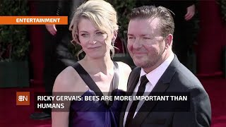 Ricky Gervais And The Bees