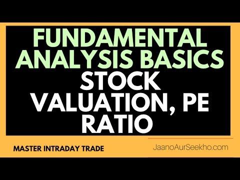 [Hindi] Fundamental Analysis Basics 2 - PEG ratio  , PE ratio  of Different Sectors