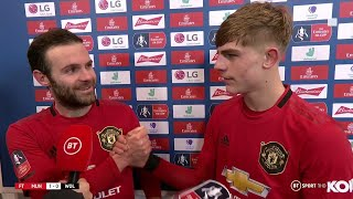 Mata: We showed we can compete against good teams