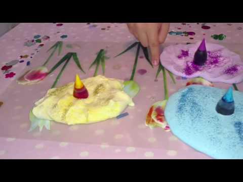 Fluffy Slime unicorn colors