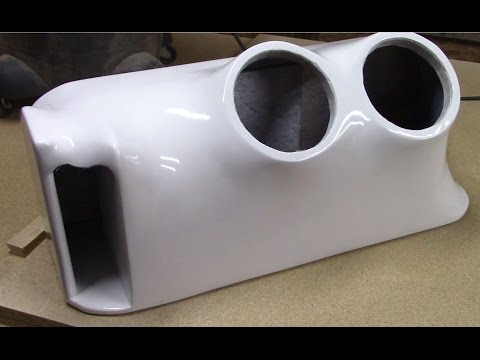 How to fiberglass speaker boxes (3 of 3) ( Subwoofer box )