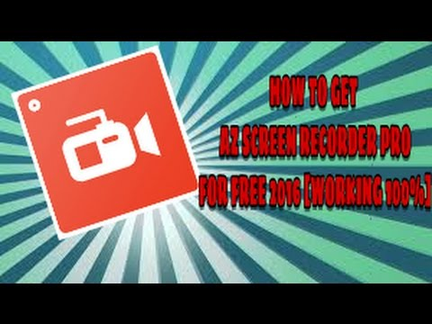 How to get Az screen Recorder Premuim For Free[100%WORKING]